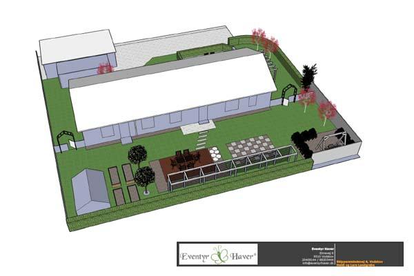 Haveplaner i 3D giver en god forståelse for din have